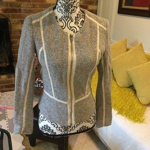 H&M grey blazer size 4
